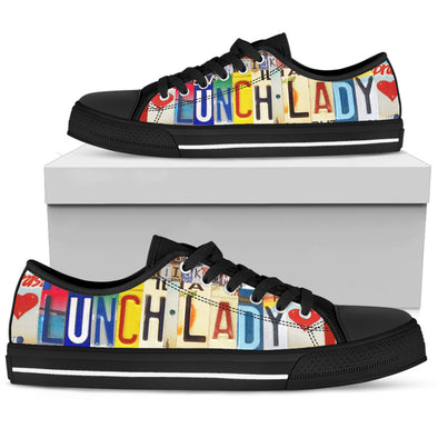 Lunch Lady - Women's Low Top Shoe - Black