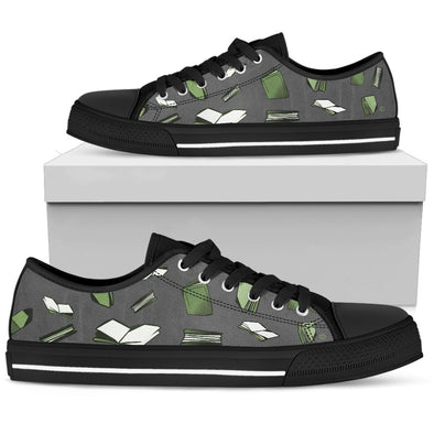 Books green multi Low Top Women's