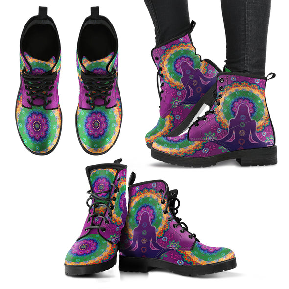 Yoga Chakra Handcrafted Boots