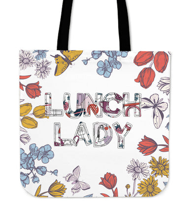 Tote Bags - Lunch Lady