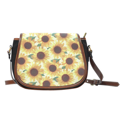 Sunflower Saddle Bag