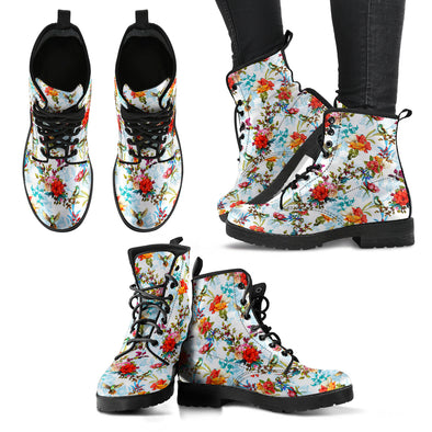 Colorful Bird 9 Handcrafted Boots