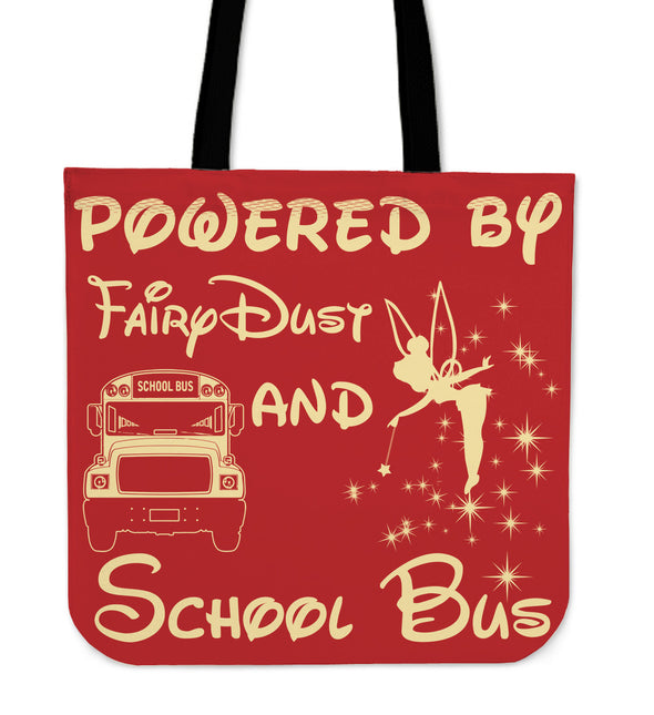 Powered by FairyDust  And School Bus - Black