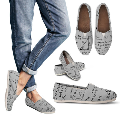 Math Women`s Casual Shoes