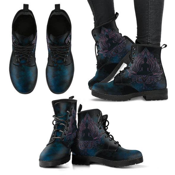 Yoga Lotus Handcrafted Boots