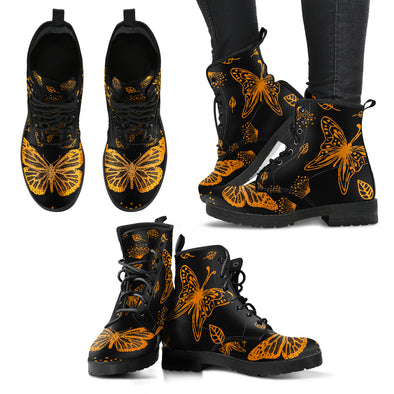 Butterfly Women's Leather Boots