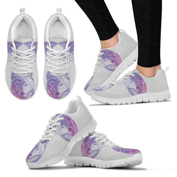 Purple wolf White Sole