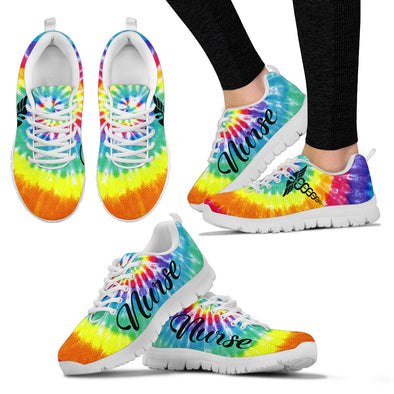 NURSE TIE DYE Women's Sneakers