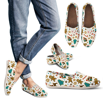Xmas Pattern Casual Shoes