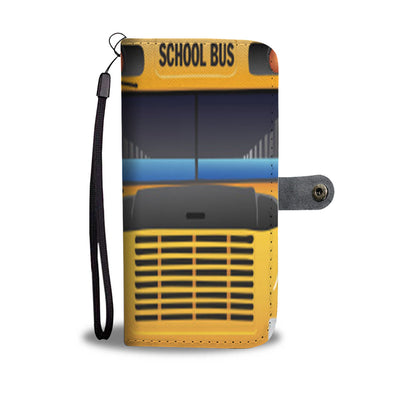 School Bus - Wallet Case