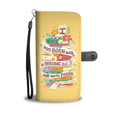 Book 04 - Wallet Phone Case