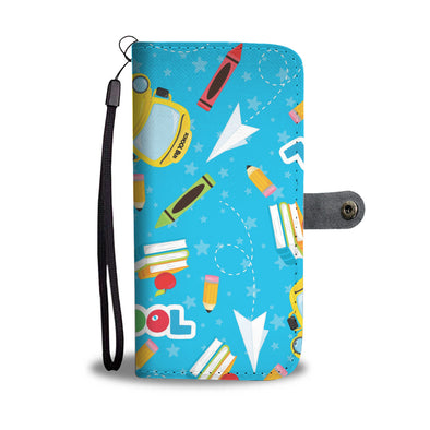 Back To SChool Wallet Phone Case