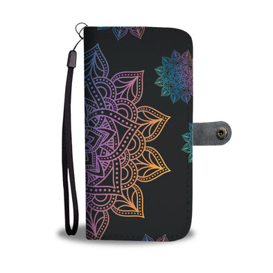 Mandala Wallet Phone Case