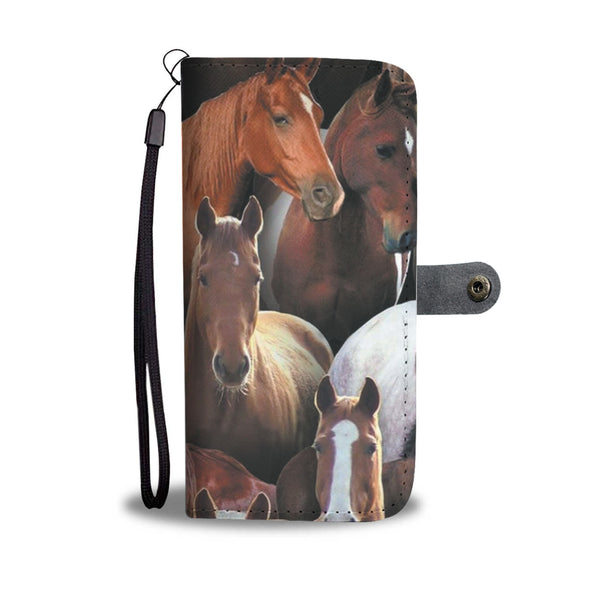 The Horses Wallet Phone Case