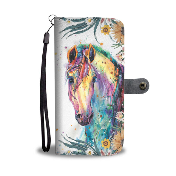 Spirit Horse Wallet Phone Case