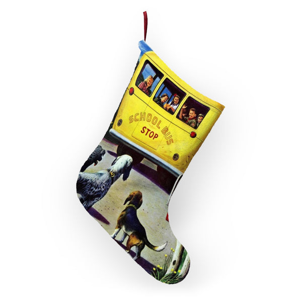 Vintage Bus Christmas Stockings