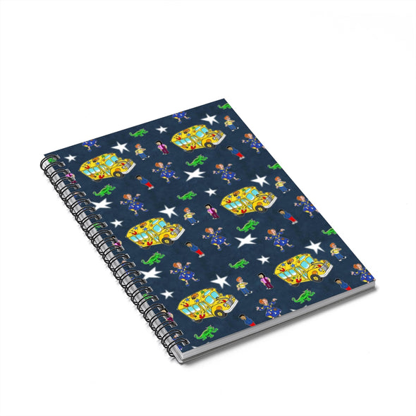 The Magic Bus Spiral Notebook - Ruled Line
