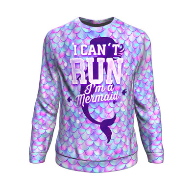 I Can't Run Mermaid Sweater