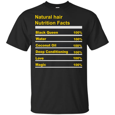 Natural hair nutrition facts