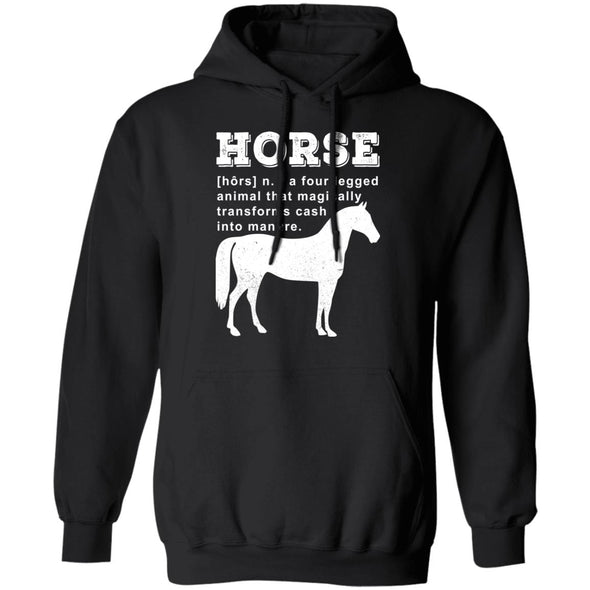 Horse a four legged animal