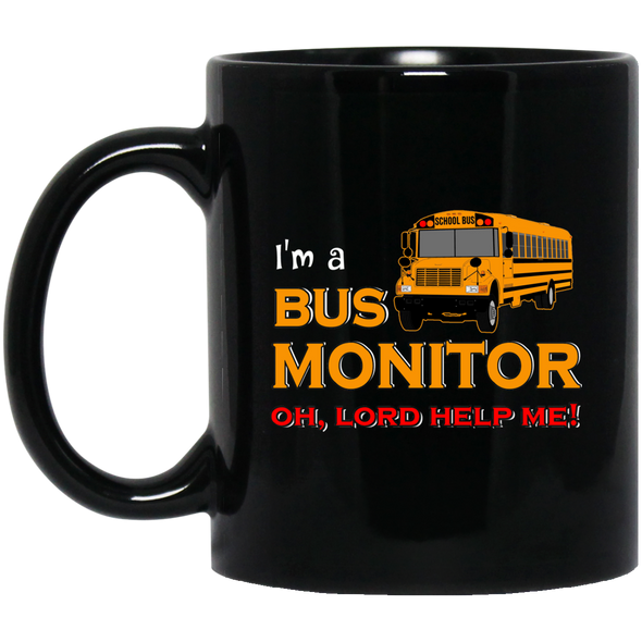School Bus Driver Shirt |Gift |Driver Appreciation |Back To School Gift|Yellow School Bus |Bus Driver Christmas |Short-Sleeve Unisex T-Shirt monitor Black Mug