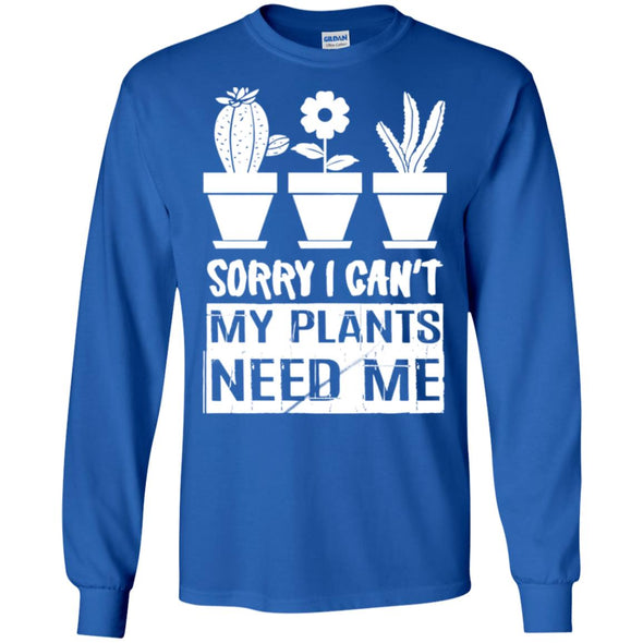 sorry i cant my plant need me