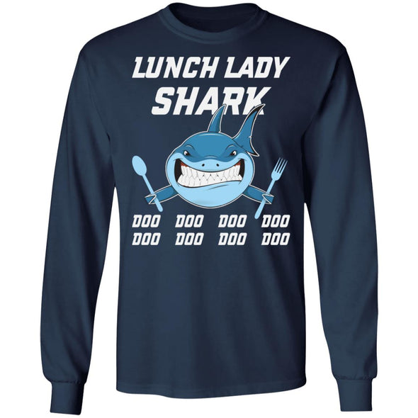Lunch Lady Shark Doo Doo Doo Doo