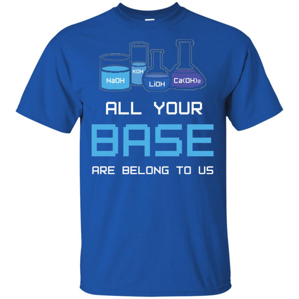 ALL YOUR BASE ARE BELONG TO US CHEMISTRY
