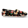 Horses Floral Pattern Women's Casual Shoes