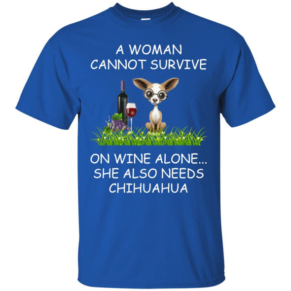 Apparel - A Woman Cannot Survive Chihauhua