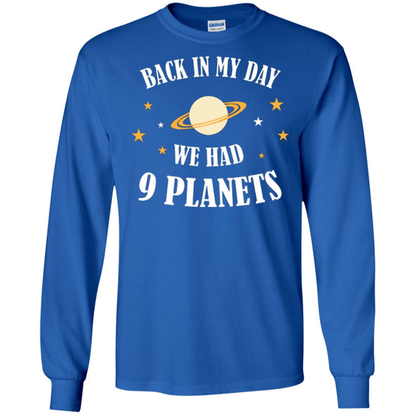 Apparel - BACK IN MY DAY WE HAVE 9 PLANETS 2