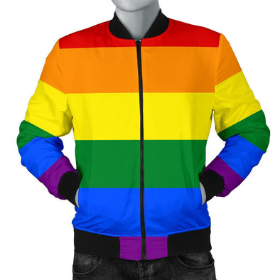 Apparel - BOMBER JACKET LGBT - MEN'S