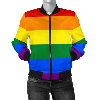 Apparel - BOMBER JACKET LGBT - WOMEN'S