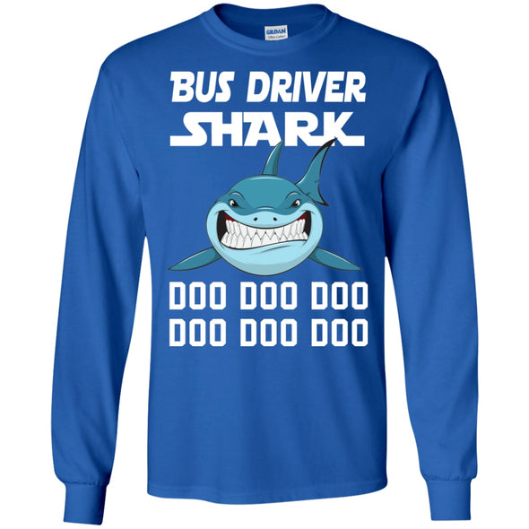 Apparel - Bus Driver Shark Doo Doo Ddoo