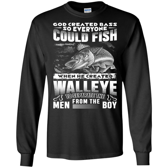 Apparel - GOD CREATED BASS SO EVERYONE COULD FISH