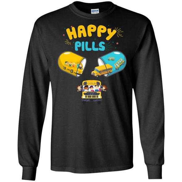 Apparel - Happy Pills School Bus Driver