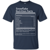Apparel - Snowflake Nutrition Facts Shirt