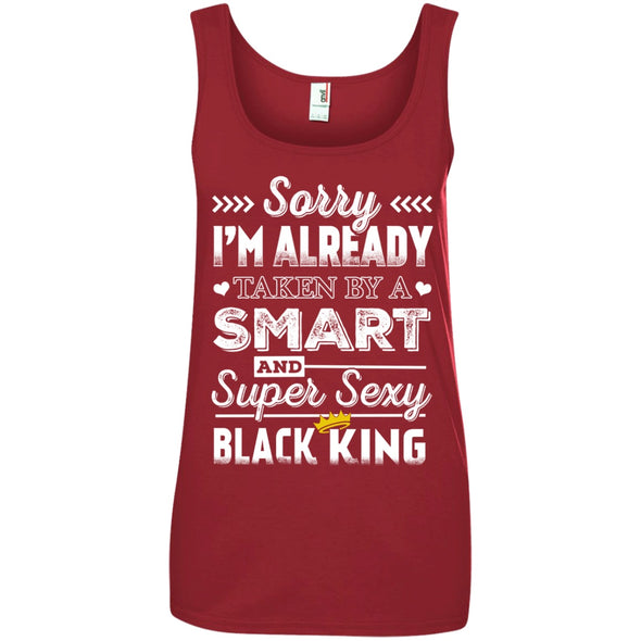 Apparel - Sorry, I'm Already Taken By Smart Black King