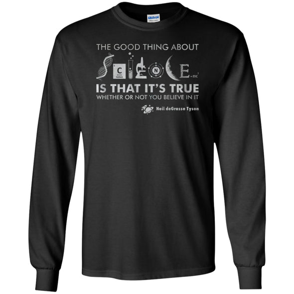 Apparel - The Good Thigns About Science Neil Tyson Shirt