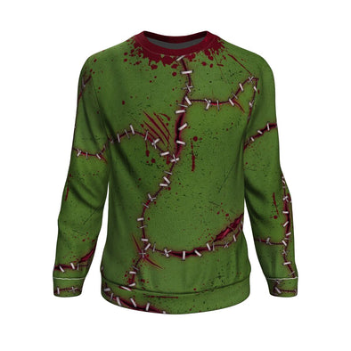Frankenstein ugly xmas sweater