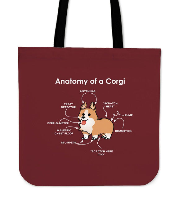 Bags - Anatomy Of A Corgi