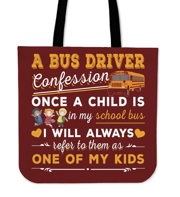 Bags - Bus Driver Confession Tote Bag