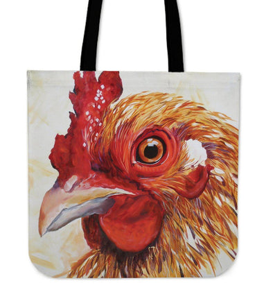 Bags - Chicken Art 2 - Tote Bags