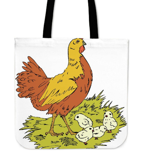 Bags - Chicken New Design - Tote Bags