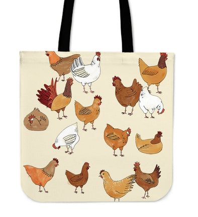 Bags - Chickens Lady Tote Bags