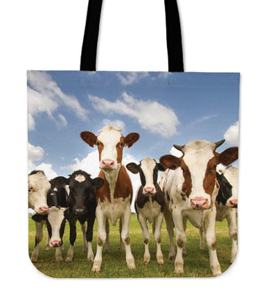 Bags - Cows Funny - Tote Bags