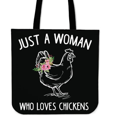 Bags - Just A Woman - Tote Bags