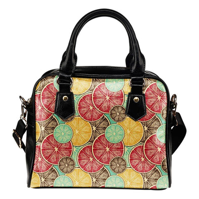 Bags - Lemons Shoulder Handbag