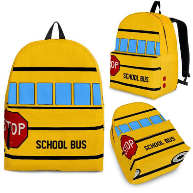 Bags - School Bus Backpack