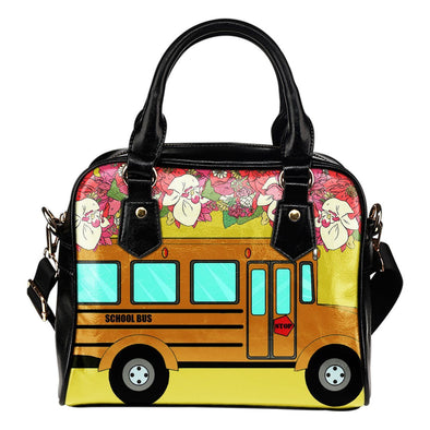 Bags - Shoulder Handbag School Bus